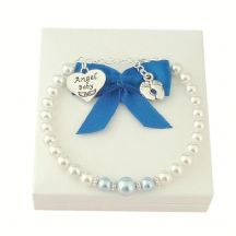 Angel Baby Bracelet for Loss of Baby Boy